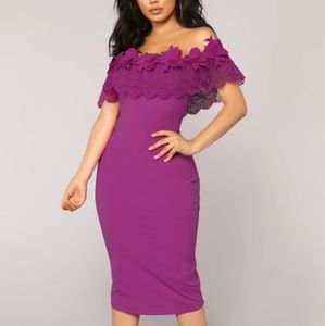Purple Nights in Moscow FN Dress
